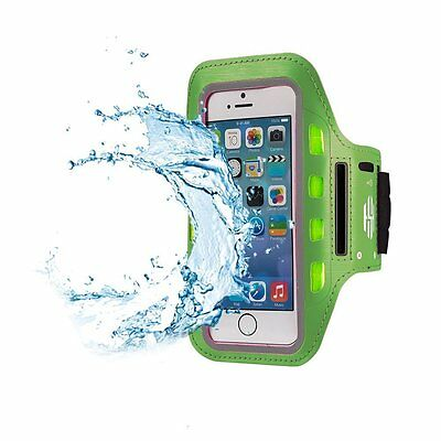 Hot Sky LED Fitness Arm Band for Running, Jogging & Cycling Adjustable - Green