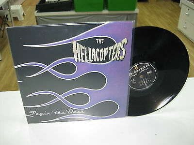 The Hellacopters Lp Payin The Dues Black Vinyl