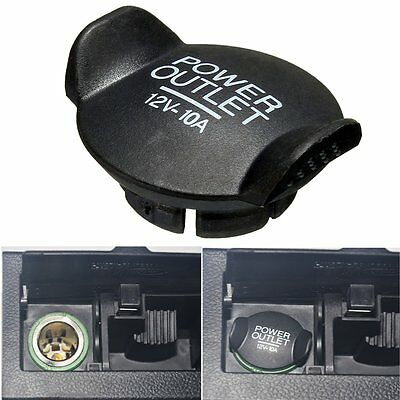 Power 12V Socket Lighter Cigarette Outlet Cover Cap For Ford Focus Fiesta Mondeo