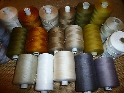 20 x 1000 Mtr Reels Assorted Colour Multi Mix 75's sewing Thread ( TH/19 )