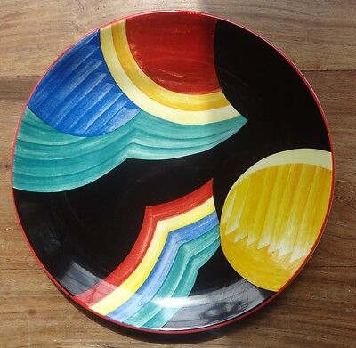 The Art Deco Years Limited Edition Susie Cooper Wedgwood plate, Rainbow