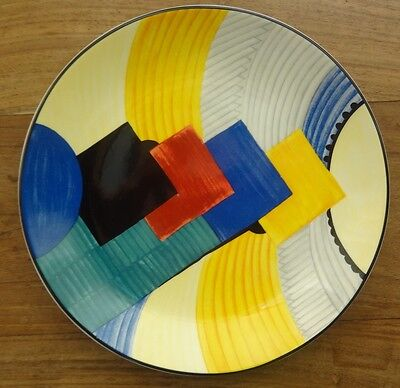 The Art Deco Years Limited Edition Susie Cooper Wedgwood plate, Cubist