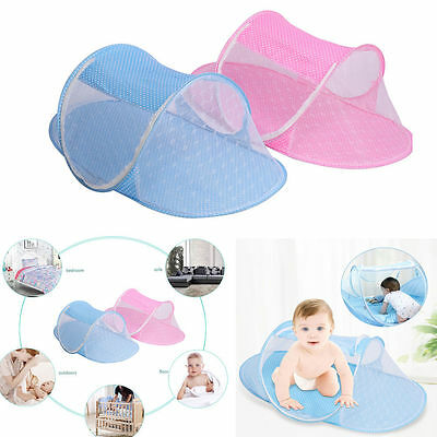 Instant Baby Travel Play Tent Pop Up Mosquito Net Bed Canopy Beach Sun Shelter