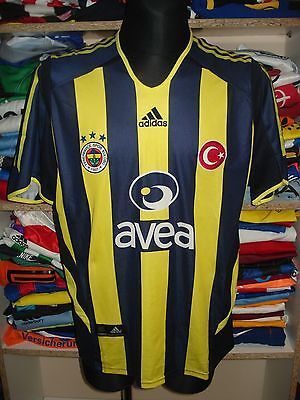 FENERBAHCE 2005/2006 HOME SHIRT SIZE L JERSEY CAMISETA  (f304)
