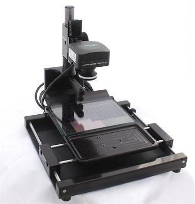 Micro-Image Capture 8 35mm Microfiche AP Card Scanner / Viewer / Printer 20MP!