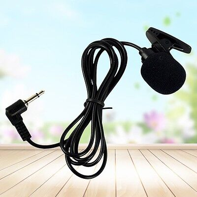 1 PC Mini Hands Free Clip On Lapel Microphone Mic For PC Notebook Laptop 3.5mm