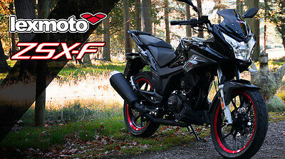 Lexmoto ZSX-F 125cc Learner Legal Motorcycle Motorbike Sports Commuter