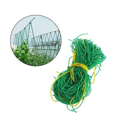 Nylon Trellis Netting Garden Green Support Climbing Bean Plant Nets Grow Fence