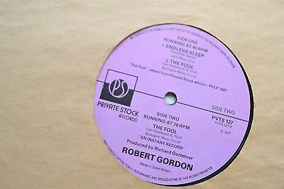 "Robert Gordon      Endless Sleep      Original 12"" Single"