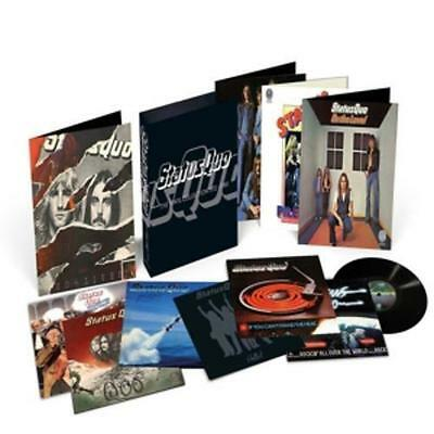 Status Quo The Vinyl Collection Limited Edition LP Vinyl Box 1972-1980 SEALED