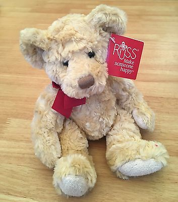 "Russ Teddy Bear - Spencer 10"" New with Tags"