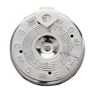 Guitar Bass Tuning 13 Tones Pitch Pipe F-F Tuner w Case L4F9