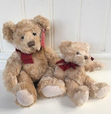 "Russ Teddy Bear - Spencer 10"" and Spencer 7"" RARE SET New with Tags"