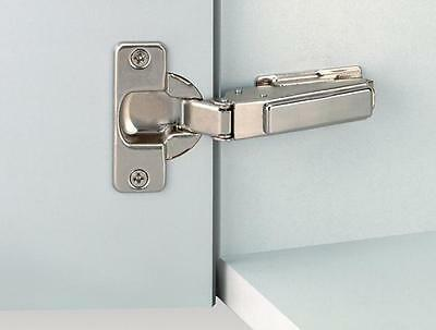 Pair of G GRASS Furniture Cabinet 110 Degree Clip On Frameless Concealed Hinges