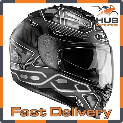 HJC IS-17 Full Face Motorcycle Motorbike Sports Helmet - Uruk Black