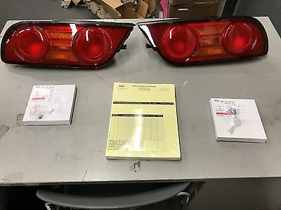 Nissan JDM OEM Silvia S13 180SX 240SX Kouki Tail Lights Lamp Kit Left and Right