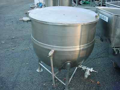 75 gallon STEAM JACKETED STAINLESS STEEL KETTLE