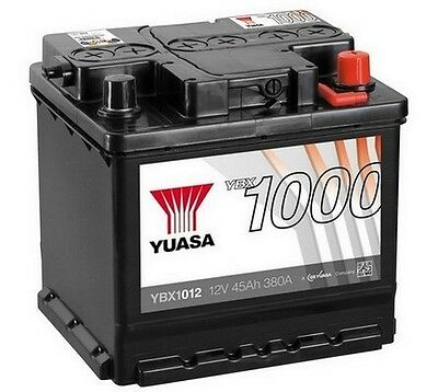 YUASA 12V Car Battery YBX1012 012 Alfa Romeo, Citroen, Peugeot, Skoda, VW