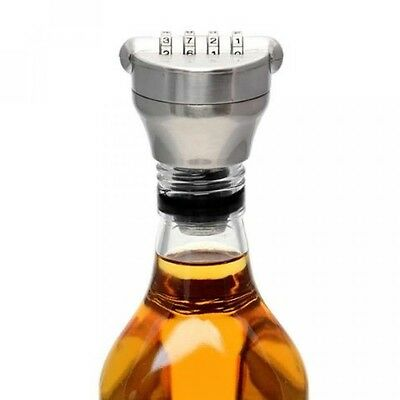 Combination Lock Bottle Stop Cork. Wines, Beers, Spirits, Whisky. Gift, Gadget