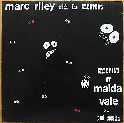 """MARC RILEY CREEPERS Creeping At Maida Vale 12"""" EP THE FALL In Tape IT004 '84 NM!"""