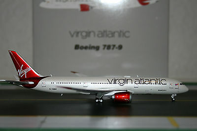 Gemini Jets 1:400 Virgin Atlantic Boeing 787-9 G-VNEW (GJVIR1444) Model Plane