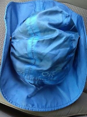 OUTDOOR RESEARCH ORIGINAL GORETEX SOMBRERO HAT - Waterproof Nylon Blue VTG - XL