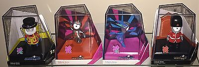 London 2012 Olympic,4 Official Rare Mascots