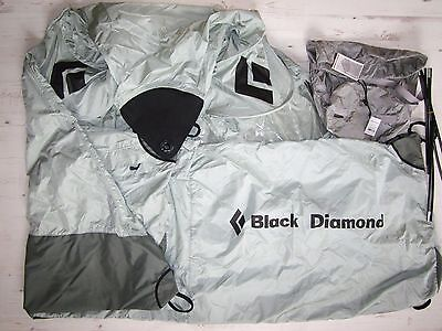 Black Diamond Deluxe Single Fly RRP£350 Climbing Wall Shelter Tent