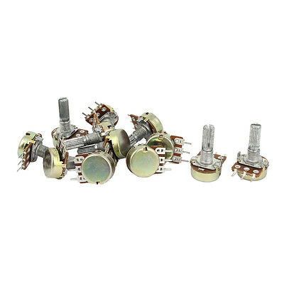 1K 2K 5K 10K OHM Linear Taper Rotary Potentiometer Pot 3 Sets FK