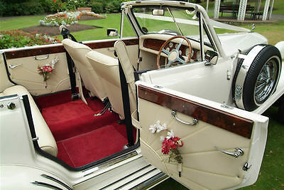 London Hire Beauford Car, vintage wedding classic date night, old bentley-style