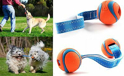Chuckit Ultra Ball Tug Toy Durable Dog Puppy Play Pull Fetch Throw Various Sizes