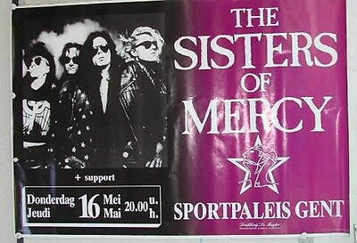 Sisters Of Mercy -  / Size : 70x100cm / VINTAGE POSTER SENT ROLLED