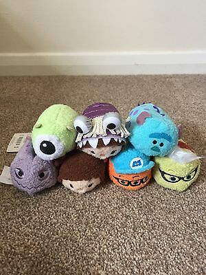 Monsters Inc Disney Pixar Tsum tsums New with tags