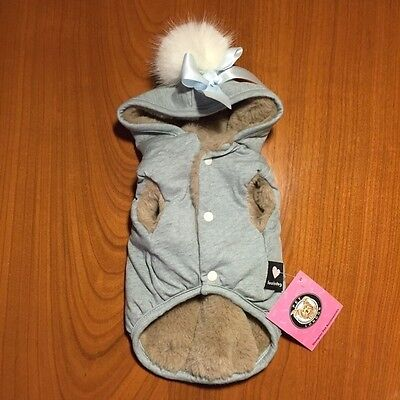 LOUIS DOG My Beffie Dog's Hoodie in Mint Size S