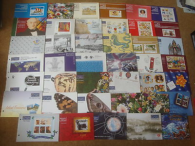 Excellent 1991-97 Guernsey Presentation Packs with all UM stamps (41) - rf032