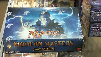 Magic The Gathering 2017 Modern Masters Factory Sealed Booster Box MTG