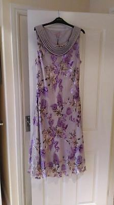 LADIES JACQUES VERT DRESS size 18 MOTHER OF THE BRIDE / WEDDING