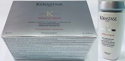 Hair Loos Caida : Treatment Force R 42 X 6ML + Bain PreventioN 250ML Kerastase