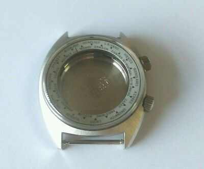 ETA 2472 Stainless Steel Watch Case & Back Glass,Crowns  Swiss Made