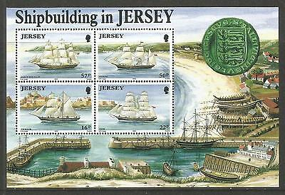 Jersey 1992 Jersey-built Sailing Ships ss--Attractive Topical (599a) MNH