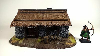 WARGAME Terrain Scenery Woodcutters Hut Stone House Forgeworld Warhammer Fantasy