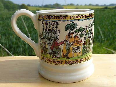 Emma Bridgewater Exclusive 2017 'chelsea Flower Show' Half Pint Mug - New, 1St.