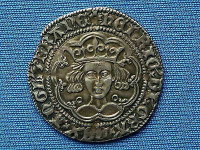 Henry VI Groat - Annulet issue - Calais mint - Fantastic example