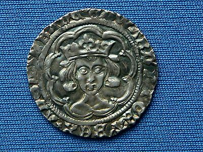 Edward IV Groat - 2nd reign - Type XIV - mm annulet - London mint - Superb