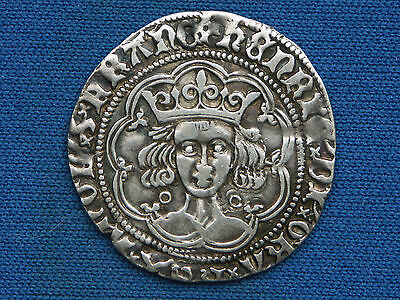 Henry VI Groat - Annulet issue - Calais mint - Superb example