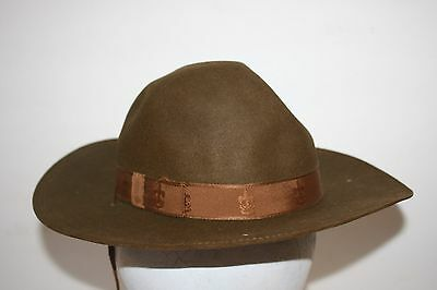 Official Antique Vintage Boy Scout Campaign Cavalry Style Hat