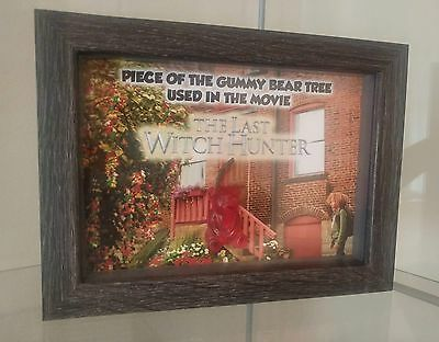 The Last Witch Hunter Screen Used Gummy Bear Tree Custom Display Vin Diesel