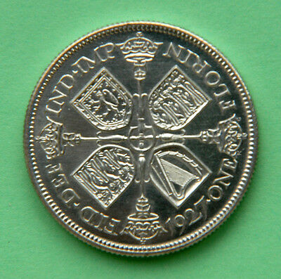 Very Scarce George V 1927 Proof Florin/Two - Shillings.  A/FDC.