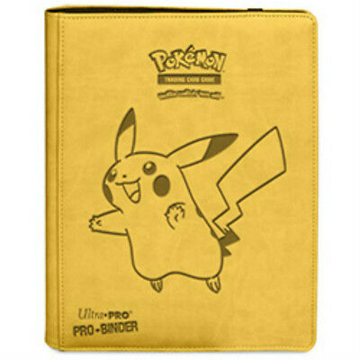 Pikachu Pokemon Ultra Pro Premium Pro Binder Folder Album Portfolio Fixed Paged