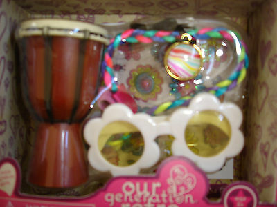 Accessory Set Sunglasses Drum Ivy American Girl Our Generation Doll Julie Melody